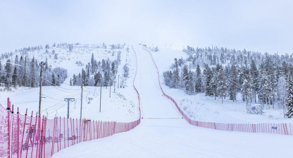 Salla Ski Resorts speed ski track